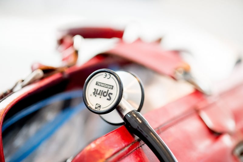 Een dokterstas als voorbeeldplaatje