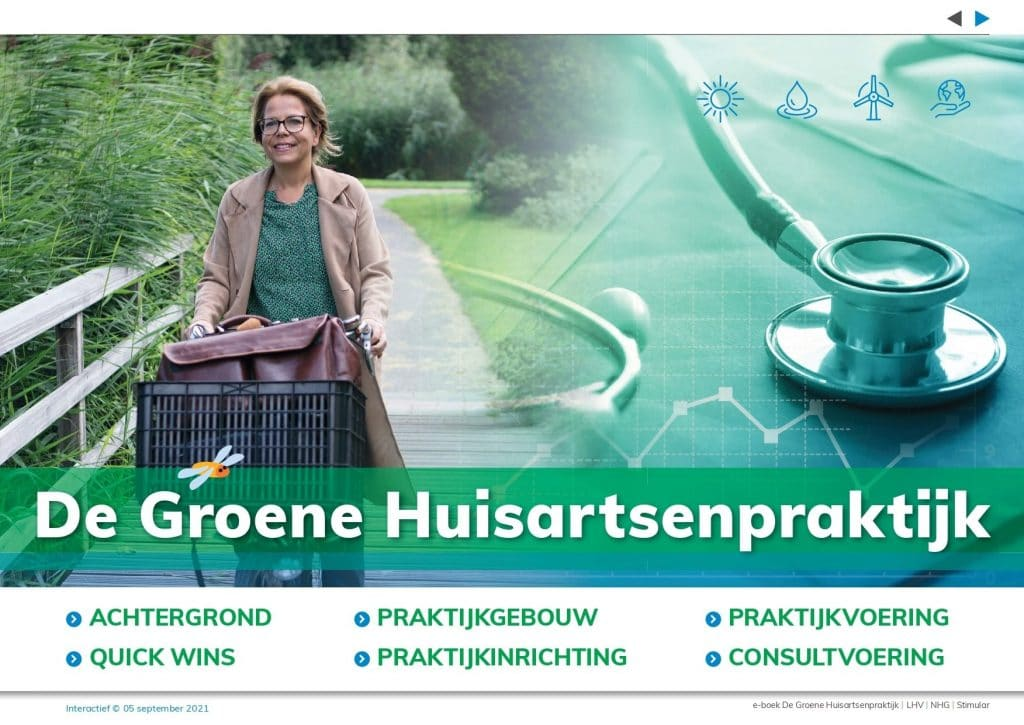 Cover e-boek groene huisartsenpraktijk